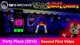 Sid's Archive Roblox Chuck E. Cheese's - Party Place