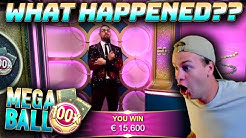 Mega Ball - BIG WIN on BIG MULTIPLIER!