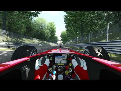 Assetto Corsa - Ferrari F2002 onboard round Monza