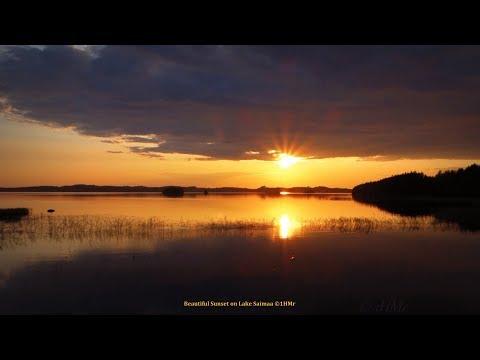 Evening  on beach - sunset 24.07.2014 - natural sounds
