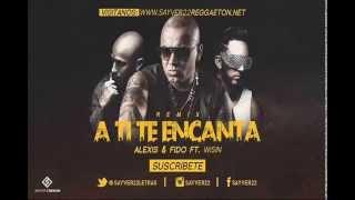 Alexis y Fido Feat  Tony Dize  Wisin (A TI TE ENCANTA) REMIX