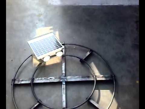 mechanical mini  project Solar train videos