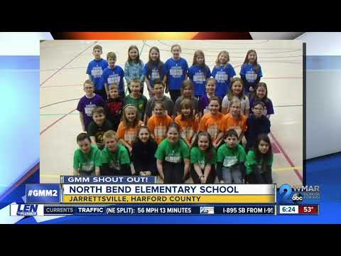 Good morning from North Bend Elementary School!