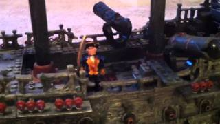 Pirates of the Caribbean Black Pearl and Flying Dutchman Models
