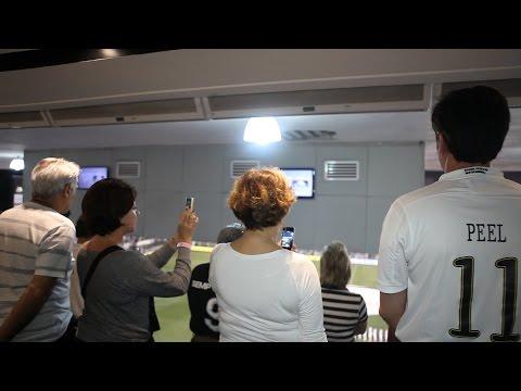 Santos recebe patrocinadores em camarote na Vila