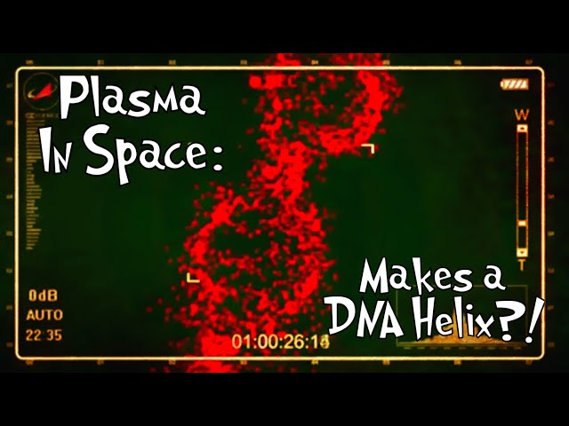 Plasma In Space Makes a DNA HELIX? WTF! +Strange VOIDS & VORTEX That Baffles Russian Scientists 2018