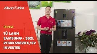 Tủ lạnh Samsung RT38K5982DX/SV - 382 Lít, Inverter, 2 dàn lạnh độc lập