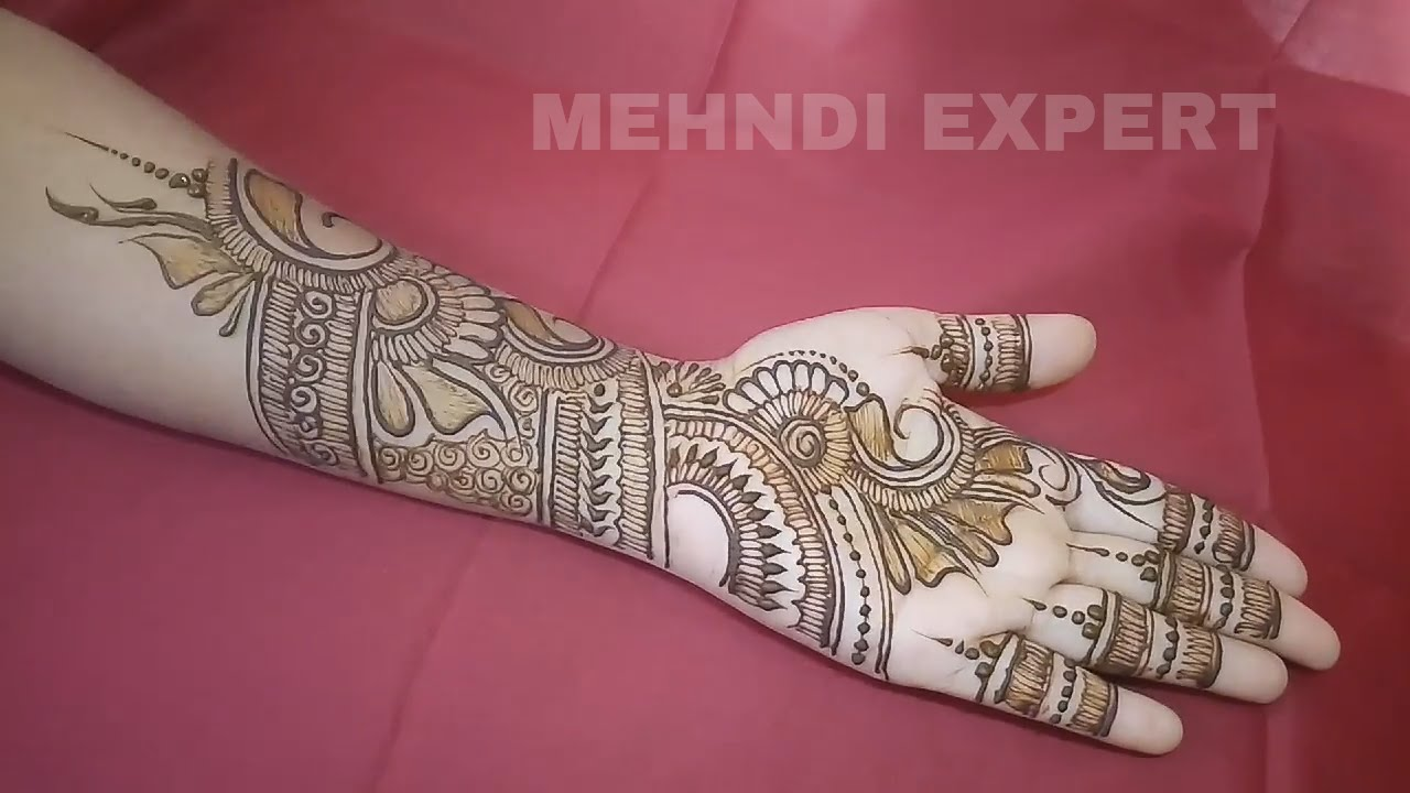 Stylish henna designs for hands new mehndi styles morewallpapers - Mehndi Design 2017 Full Hd Amazing Here Are Some Simple Arabic Mehndi Designs For Hands