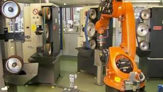 Repeat youtube video Grinding and polishing of implants with a KUKA robot