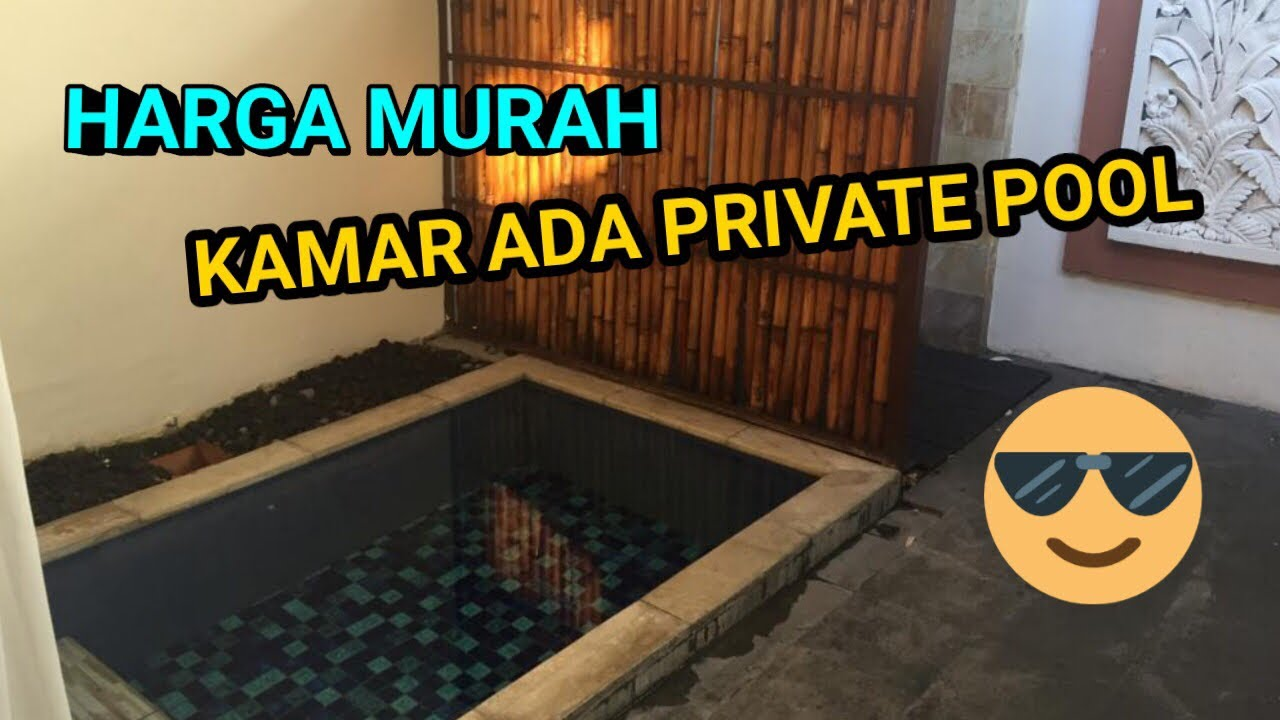 Hotel Best Western Kuta Villa Bali Private Pool Murah Banget Youtube