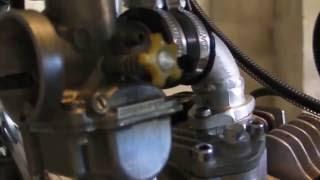 moteur YX avec KIT 170cm3 / 170cc monté sur dax
