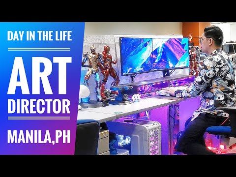 DAY IN  THE LIFE OF AN ART DIRECTOR IN MANILA, PHILIPPINES (ABS-CBN)