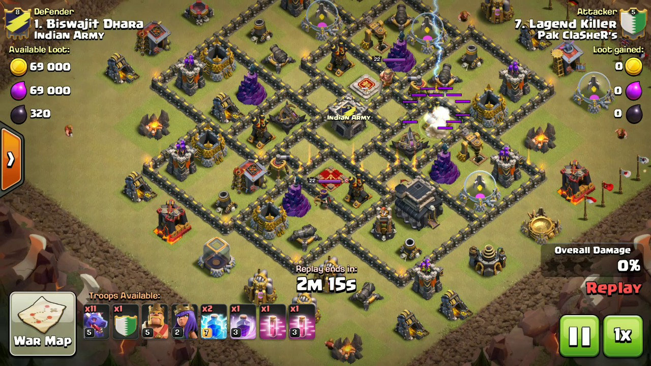 Town Hall 9 Dragon Attack Strategy