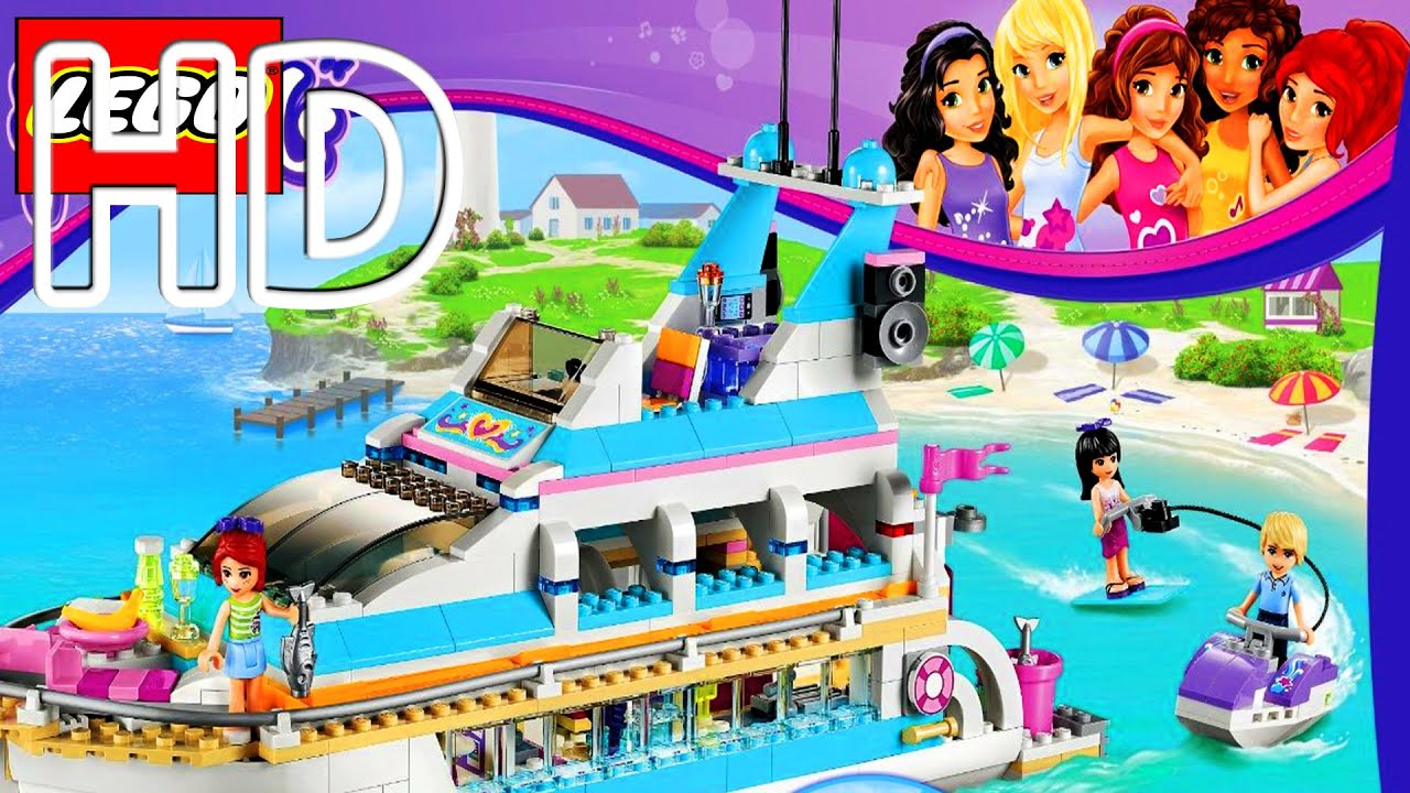 Lego Friends Dolphin Cruiser Game Full HD