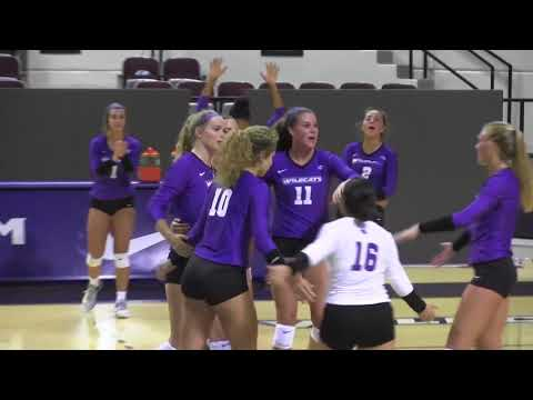 ACU Volleyball |  Scrimmage Highlights