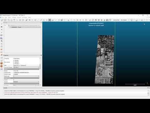 Downloading LiDAR Data and Cleaning in CloudCompare