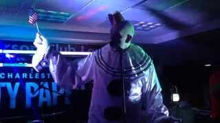 Puddles the Clown sings national anthem at Best of Charleston 2014