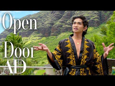 Inside Bretman Rock's Colorful Hawaiian Villa | Open Door | Architectural Digest