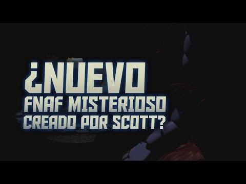 NUEVO JUEGO CREADO POR SCOTT POR EL ANIVERSARIO DE FIVE NIGHTS AT FREDDYS (?) HISTORIA QUE NO VISTE
