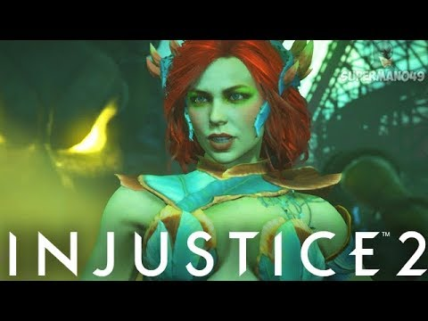 "I Love Playing This Character Now! - Injustice 2 ""Poison Ivy"" Gameplay"