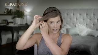 Jak wygodnie upiąć krótkie włosy? Tutorial z Kerabione i Agnieszką Sienkiewicz