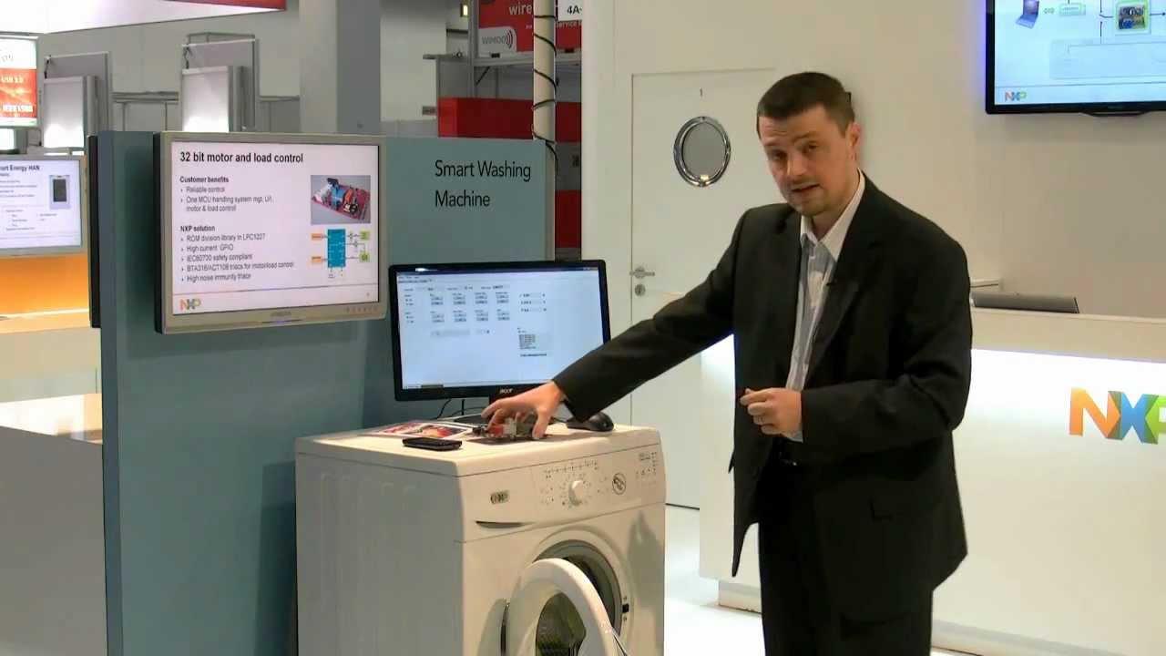 Smarter Smart Washing Machine In Depth Demo With Nxp