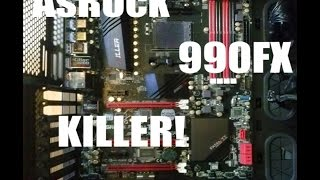 fATALITY! Asrock 990fx killer Overview!