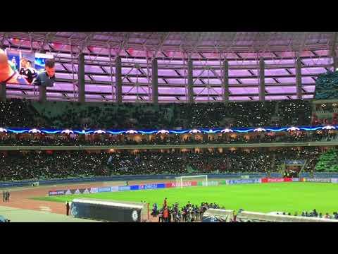 Олимпийский стадион в Баку гимн Лиги Чемпионов Матч Карабах Челси 0:4 22.11.2017