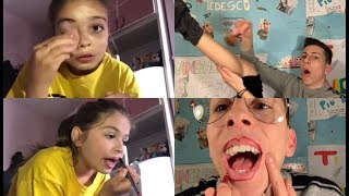 REAGISCO AD UN TUTORIAL MAKE UP!🤬😱🙆🏻‍♂️