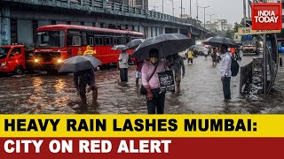 Monsoon Chaos: Heavy Rains Batter Mumbai, Rainfall For 3rd Straight Day