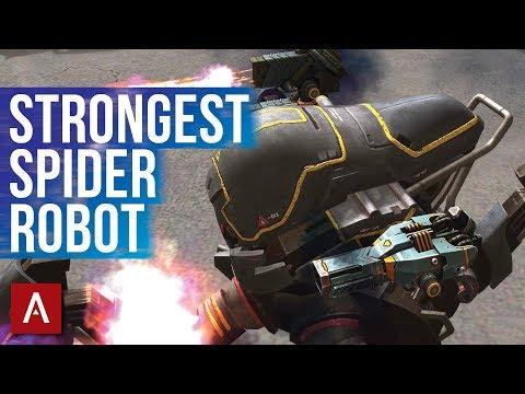 War Robots Gameplay - INVADER Best Spider Robot | Shotgun Invader Gameplay