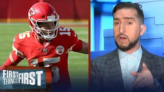 Nick Wright not concerned for his Chiefs, Mahomes' KC will easily adjust | NFL | FIRST THINGS FIRST