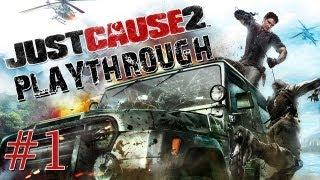 Just Cause 2 Playthrough Parte #01 [DETONADO- PT-BR]
