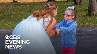 Girl with autism forms a bond with