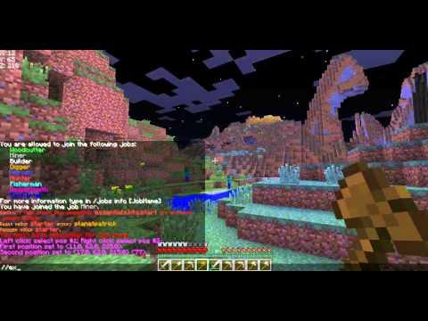 Команды для новичков на сервере Minecraft.