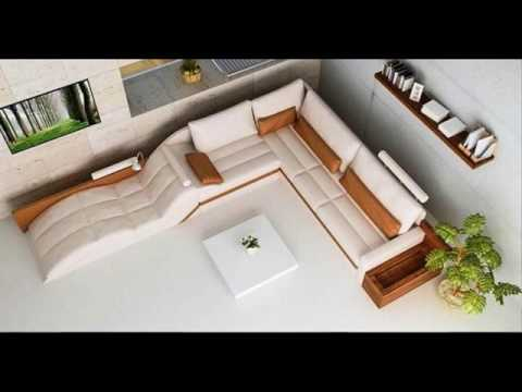 Modern L Shaped Couch ideas - YouTube