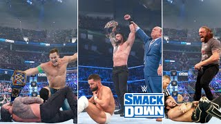 WWE Smackdown 30th July 2021 Highlights - Roman reigns vs. Finn Balor, John Cena Attacks Results