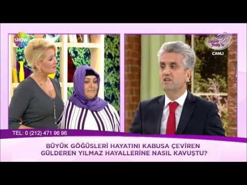 Doç.Dr.Hayati Akbaş Show Tv-Zahide Yetiş'le Programında - Meme Küçültme