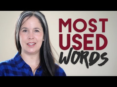 Learning English  Spoken English Pronunciation of the Most Common English Words