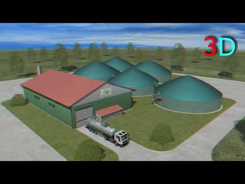 BioGas WeserEms 3D-Animation