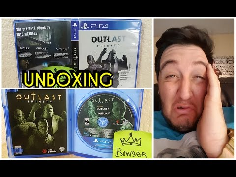 unboxing -OUTLAST 2 TRINITY- para Playstation 4