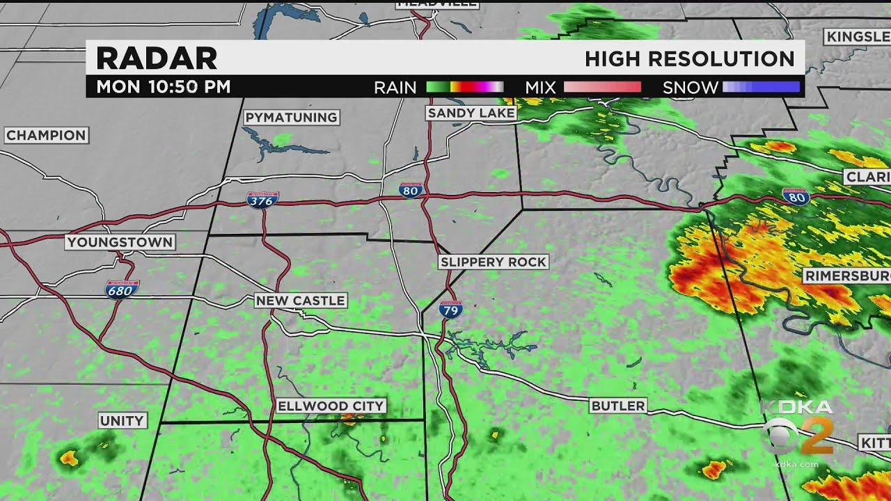 Pittsburgh Weather: Tornado Warning Issued For Parts Of Butler ...