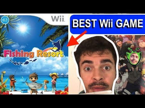 BEST Wii GAME - Fishing Resort