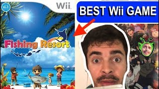 BEST Wii GAME - Fishing Resort
