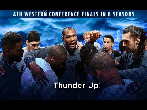 NBA Playoffs: Thunder eliminate Spurs, Face Warriors in Western Conference Finals