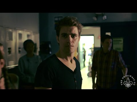 "The Vampire Diaries ""Directing Vampires"" Paul Wesley Ian Somerhalder"