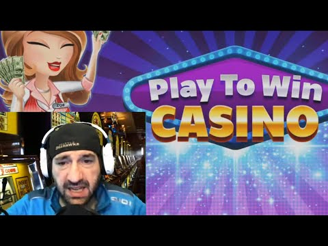 PLAY TO WIN CASINO Win Real Money In Cash Sweepstakes Game / App 2020 Review Gameplay Youtube Video