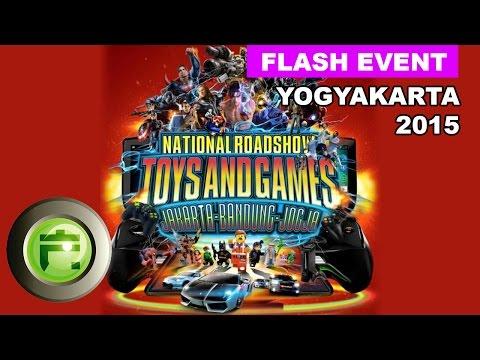 FlashGadget saat National Roadshow Toys & Games 2015
