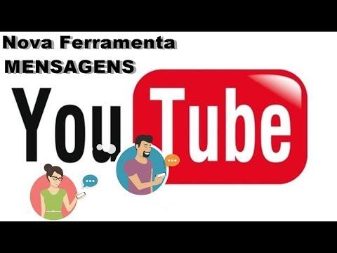 Nova Ferramenta do Youtube Mensagens - Permiti Compartilhar Vídeos Com Amigos