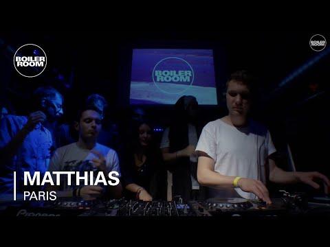 Matthias Zimmermann Boiler Room Paris DJ set